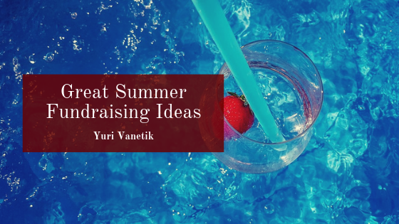 Great Summer Fundraising Ideas