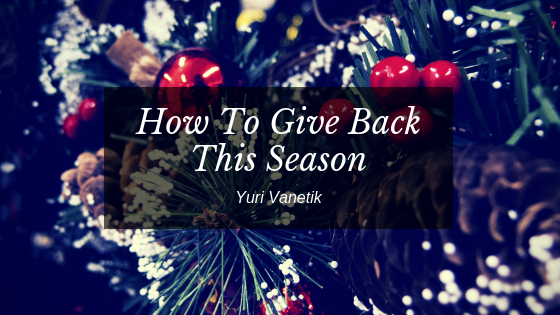 How To Give Back This Winter