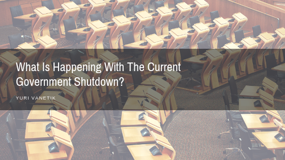 What Is Going On With The Current Government Shutdown?